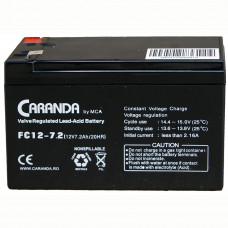 Baterie staționară 12V 7.2Ah FC12-7.2 AGM VRLA