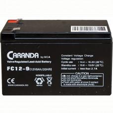 Baterie staționară 12V 9Ah FC12-9 AGM VRLA