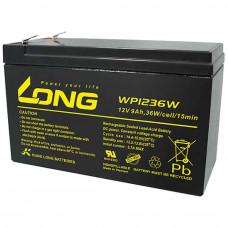 Acumulator staționar 12V 9Ah 36W – LONG WP1236W